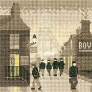 Late Shift - Evenweave - Heritage Cross Stitch Kit