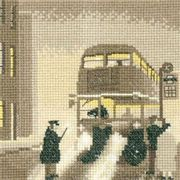 Pea Souper - Evenweave - Heritage Cross Stitch Kit