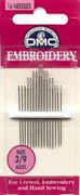 Embroidery Needles Size 3-9