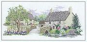Derwentwater Designs Bluebell Lane Cross Stitch Kit