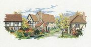 October Lane - Derwentwater Designs Cross Stitch Kit