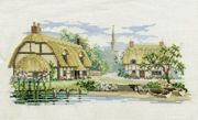 Derwentwater Designs Waterside Lane Cross Stitch Kit