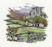 Derwentwater Designs Cragside Farm Cross Stitch Kit