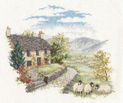 Derwentwater Designs High Hill Farm Cross Stitch Kit