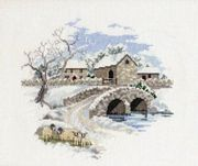 Winterbourne Farm - Derwentwater Designs Cross Stitch Kit
