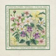 Derwentwater Designs Spring Cross Stitch Kit