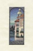 Derwentwater Designs Steps to the Sea Cross Stitch Kit