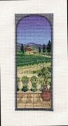 Derwentwater Designs View from the Terrace Cross Stitch Kit