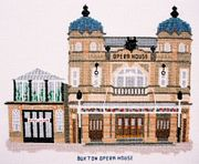 Buxton Opera House, Derbyshire - Abacus Designs Cross Stitch Kit