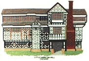 Little Moreton Hall, Cheshire - Abacus Designs Cross Stitch Kit