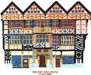 Abacus Designs Ancient High House Cross Stitch Kit