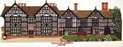 Abacus Designs The Old Hall, Sandbach, Cheshire Cross Stitch Kit