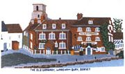 The Old Granary, Wareham, Dorset - Abacus Designs Cross Stitch Kit