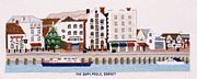 The Quay, Poole, Dorset - Abacus Designs Cross Stitch Kit