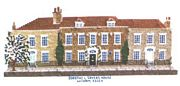 Abacus Designs Dorothy L Sayers' House, Witham Cross Stitch Kit
