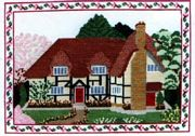Abacus Designs Thatched Cottage (Spring) Cross Stitch Kit