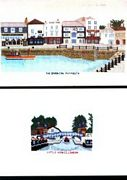 Abacus Designs The Barbican, Plymouth Cross Stitch Kit