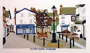 Ashbourne - Victoria Square - Abacus Designs Cross Stitch Kit