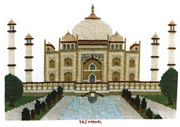 The Taj Mahal - Abacus Designs Cross Stitch Kit