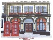Deacon Brodie's Tavern, Edinburgh - Abacus Designs Cross Stitch Kit