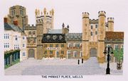 Market Place, Wells, Somerset - Abacus Designs Cross Stitch Kit