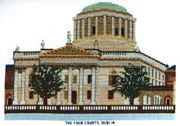 The Four Courts, Dublin - Abacus Designs Cross Stitch Kit