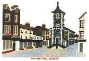 Abacus Designs The Moot Hall, Keswich Cross Stitch Kit