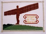 Abacus Designs Angel of the North Cross Stitch Kit