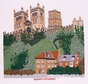 Abacus Designs Durham Cathedral Cross Stitch Kit
