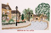 Abacus Designs Bourton-on-the-Water Cross Stitch Kit