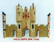 Micklegate Bar, York - Abacus Designs Cross Stitch Kit