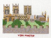 Abacus Designs York Minster Cross Stitch Kit
