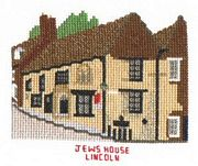 Abacus Designs The Jew's House, Lincolm Cross Stitch Kit