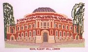 Abacus Designs Royal Albert Hall Cross Stitch Kit