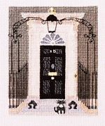 Abacus Designs No. 10 Downing Street Cross Stitch Kit