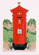 Victorian Hexagonal Pillar Box - Abacus Designs Cross Stitch Kit