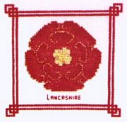 Lancashire Rose - Abacus Designs Cross Stitch Kit