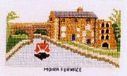 Moira Furnace, Ashby Canal - Abacus Designs Cross Stitch Kit