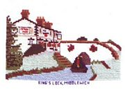 King's Lock, Middlewich - Abacus Designs Cross Stitch Kit