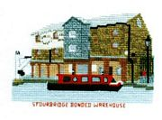 Bonded Warehouse, Stourbridge - Abacus Designs Cross Stitch Kit