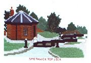 Smethwick Top Lock - Abacus Designs Cross Stitch Kit