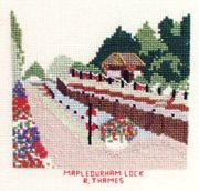 Abacus Designs Mapledurham, River Thames Cross Stitch Kit