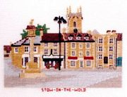 Stow-on-the-Wold, Gloucestershire - Abacus Designs Cross Stitch Kit