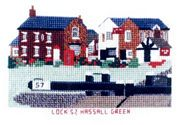 Lock 57, Hassal Green (Trent and Mersey Canal) - Abacus Designs Cross Stitch Kit