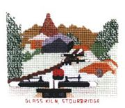 Glass Kiln, Stourbridge - Abacus Designs Cross Stitch Kit