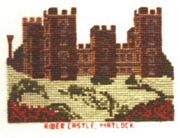 Riber Castle, Derbyshire - Abacus Designs Cross Stitch Kit