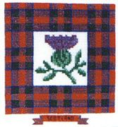 Scottish Thistle - Abacus Designs Cross Stitch Kit