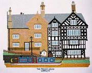 Abacus Designs Packet House, Worsley Cross Stitch Kit
