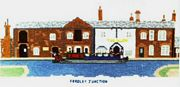 Fradley Junction, near Lichfield - Abacus Designs Cross Stitch Kit
