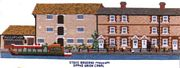 Canal Museum, Stoke Bruerne - Abacus Designs Cross Stitch Kit